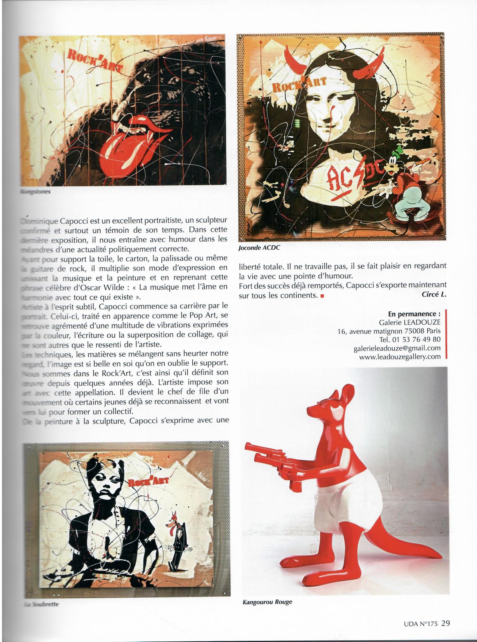 Univers des Arts Page 2