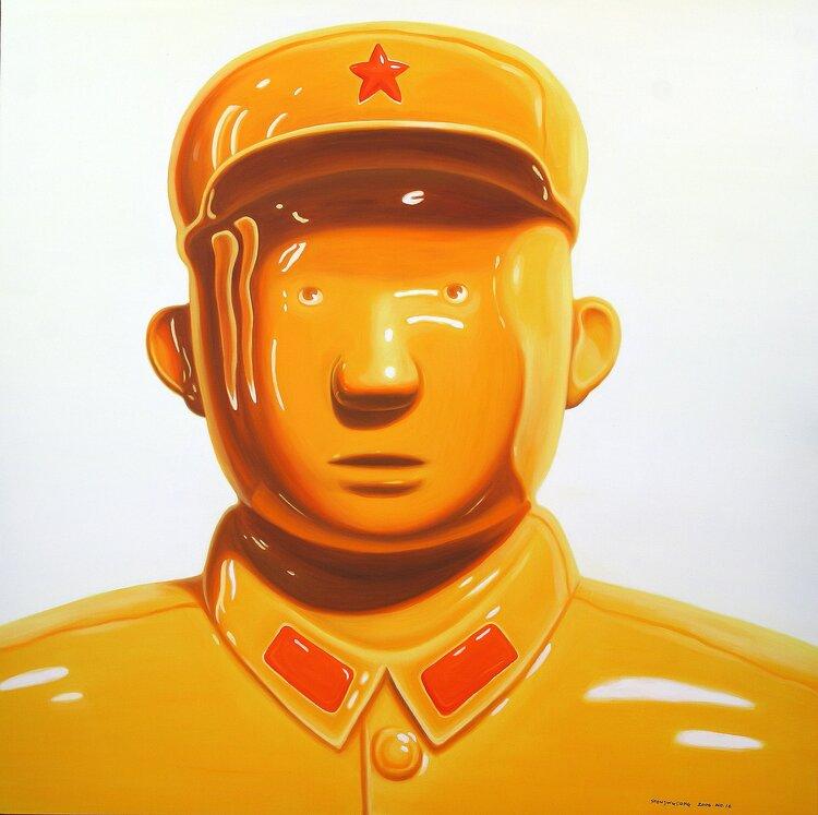 tilsitt gallery shen jingdong 2006 Hero 16 英雄系列 16 (200cm × 200cm)