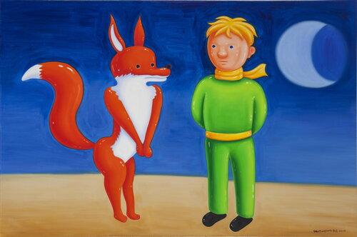 tilsitt gallery shen jingdong 2015 Little Prince 12 小王子十二 (100cm x 150cm)