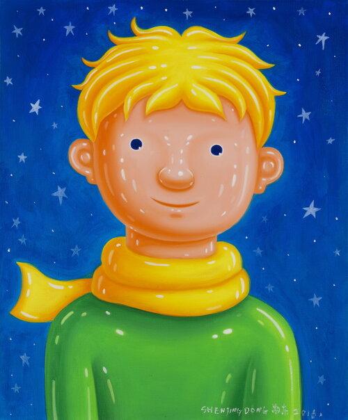 tilsitt gallery shen jingdong 2016 Little Prince 小王子(60cm x 50cm)