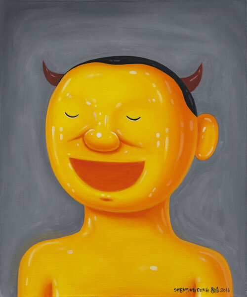 tilsitt gallery shen jingdong 2016 Old Yue 老岳 (60cm x 50cm)