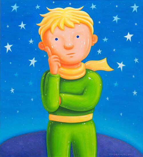tilsitt gallery shen jingdong 2017 Little Prince 小王子 (110cm x 100cm)