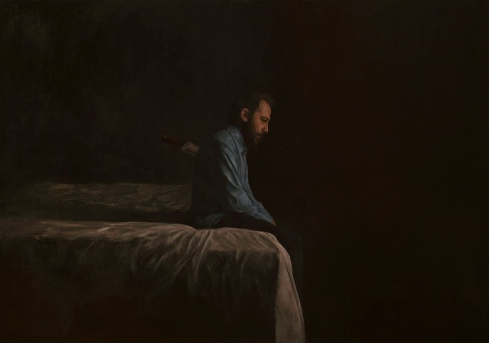 Tilsitt Gallery - Auto retrato V - Oil painting on canvas 110x140cm - Cris DK